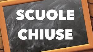 Sospesa l'attività didattica nelle scuole fino al 3 Aprile